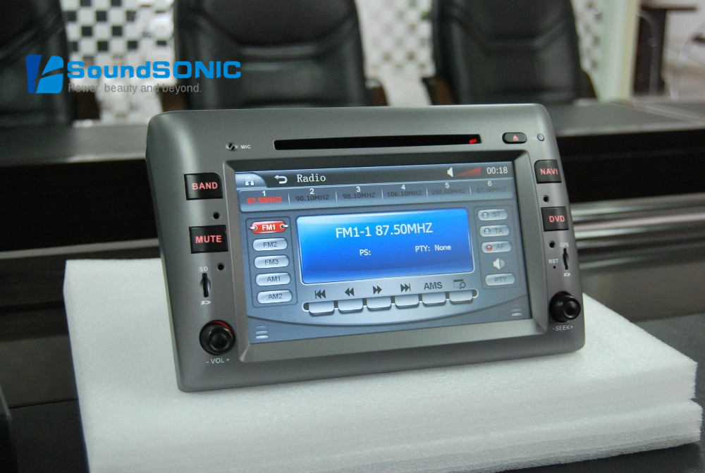 for fiat stilo 2002 2010 touch screen car radio stereo dvd gps navigation sat navi navigator. Black Bedroom Furniture Sets. Home Design Ideas