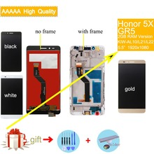 ORIGINAL For Huawei Honor 5X LCD Display Touch Screen Digitizer Assembly Replacement For Huawei GR5 KIW-AL10 KIW-L21 KIW-L22 LCD high quality for huawei honor 5x 2gb ram lcd lcd display touch screen digitizer assembly smartphone replacement parts