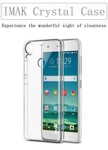 Оригинал iMAK Износостойкий Прозрачный Кристалл Оболочки Hard Cover Телефон Случаях для HTC Desire 10 pro case Для HTC 10 Pro Case