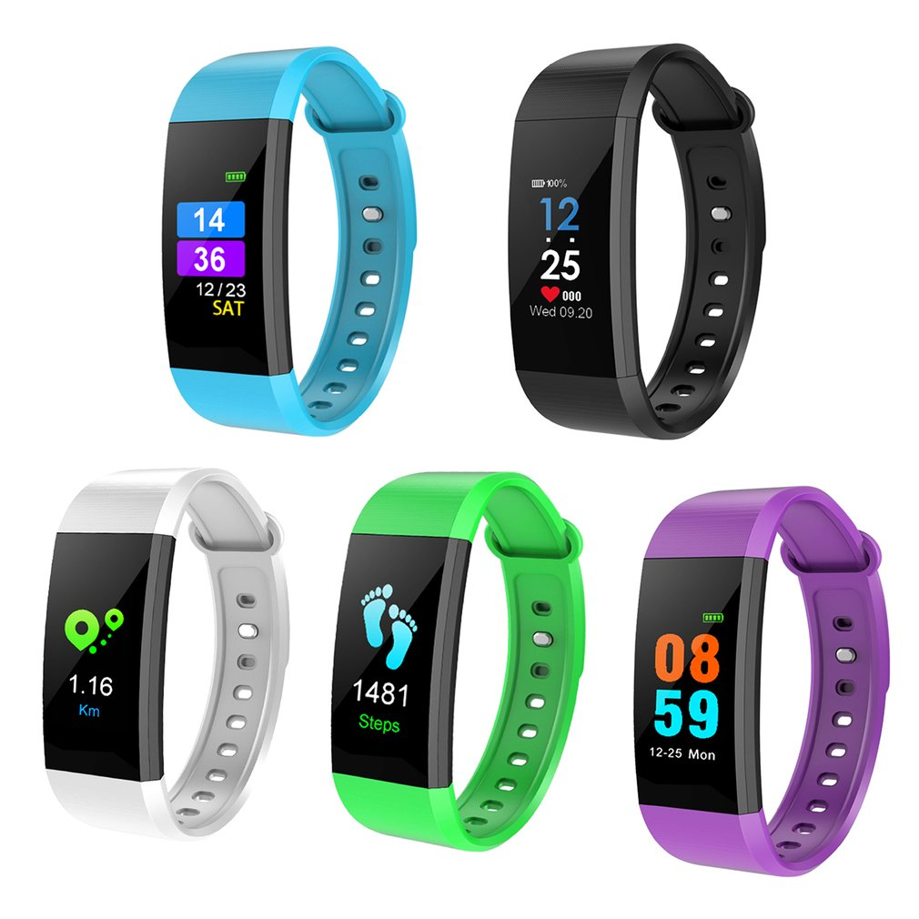I9 Sports Smart Watch Heart Rate/Blood Pressure Monitor IP68 Waterproof Bluetooth Wristband For IOS and Android