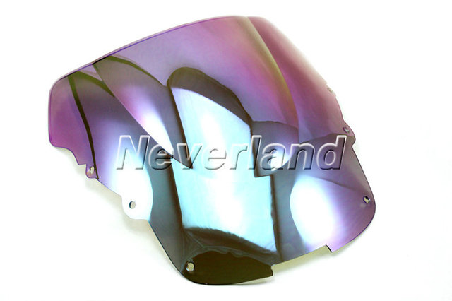 Hot sale Motorcycle Windscreen Windshield for Honda CBR 1100XX CBR1100XX 1996-2007 06 Light Iriduim Free shipping C20