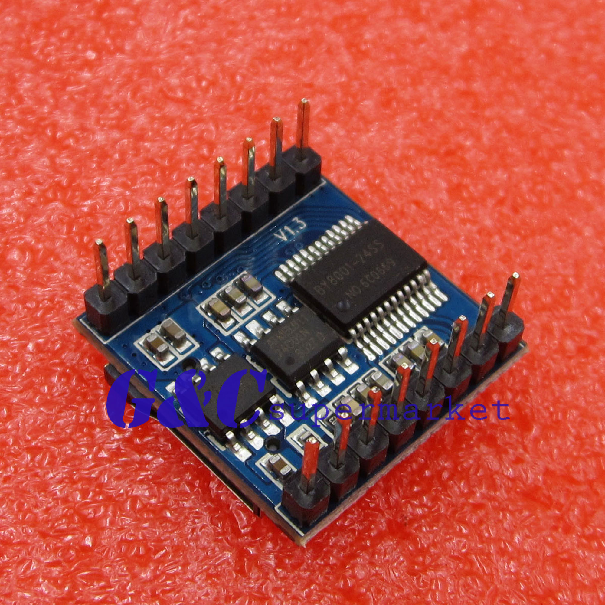 Micro Sd Tf U Disk By8001 16p Mp3 Player Audio Voice Module Board In Booster Circuits Integrated From Electronic Components Supplies On Alibaba