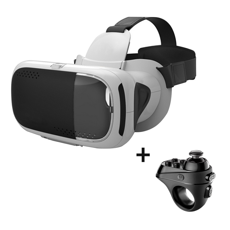 VR virtual reality glasses 3D Google Cardboard VR Headset virtual glasses for Smartphone Adjustable Bluetooth VR Controllers