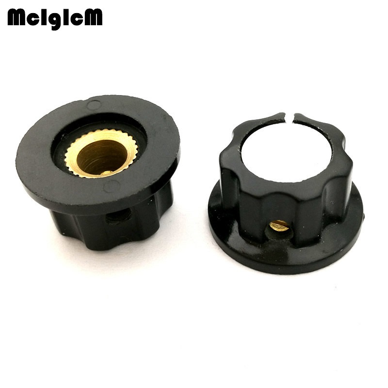 200pcs MF-A01 Bakelite Potentiometer Potentiometer Knob Cap Diameter 19.5MM With RV16 Hole 3.2MM