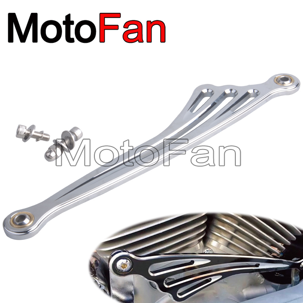 Motorcycle Accessories Gear Shift Linkage Shifter Rod Lever Chrome Wing Styling For Harley Davidson FXS FLS Street Tour Glide black chrome custom motorcycle skeleton bone mirrors for harley davidson street glide