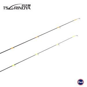 Image 5 - TSURINOYA PARTNER PNC 634UL 1.89m 4 Section 2 Tips Casting Fishing Rod Carbon Fiber Lure Rod Vara De Pesca Carp Fishing Tackle