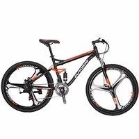 MTB велосипеда EUROBIKE S7 велосипед 27,5 21 двойной дисковый тормоз велосипед