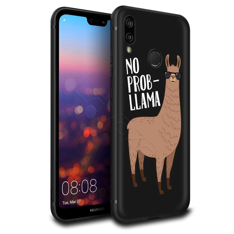 Lavaza No Prob Lama Lama Alpaca per il Caso di Huawei P30 P20 P10 P9 P8 Compagno di 20 10 Pro Lite P smart 2017