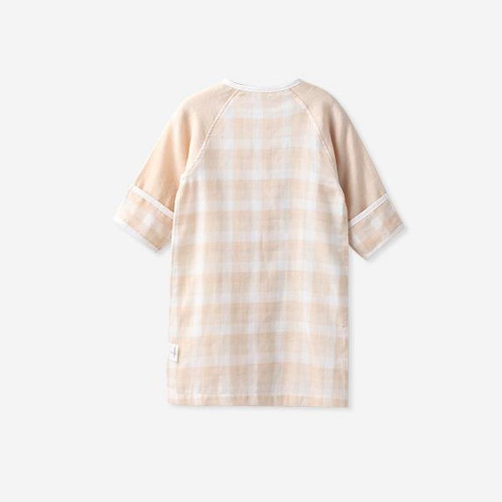 COBROO Unisex-Baby Piżamy Piżamy z zapięciem w kratę Wzór w - Odzież dla niemowląt - Zdjęcie 2