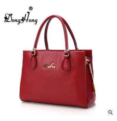 ФОТО  Donghong women's Handbag 2016 new fashion designer women brand messenger bag genuine leather shoulder bag