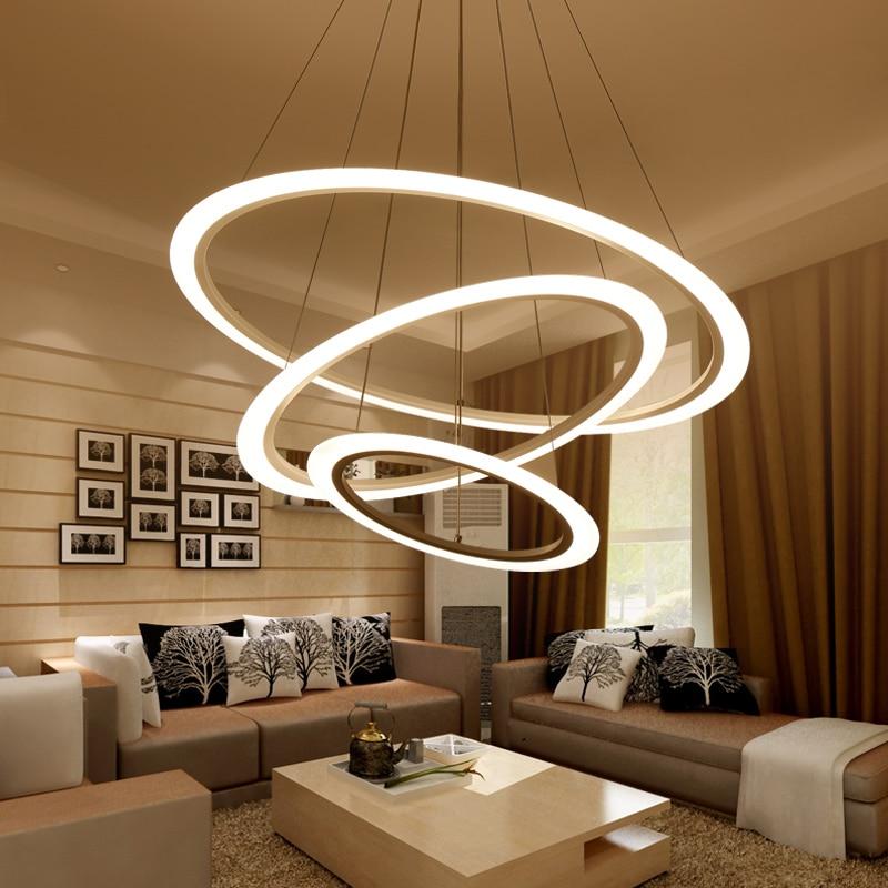 Living room lamp Postmodern chandelier modern minimalist ...