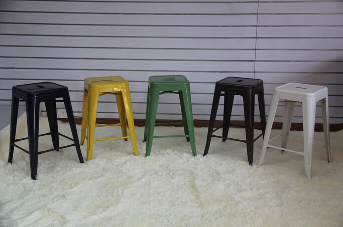 Sensational 4 Pieces Lot 18 Inch Seat Height Metal Bar Stool Iron Sheet Frankydiablos Diy Chair Ideas Frankydiabloscom