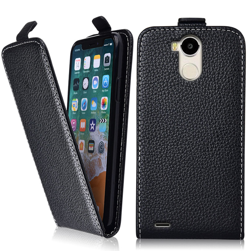 Business Vintage Flip Case For Blackview R6 Case 100% Special Cover PU  and Down Plain Cute phone bag