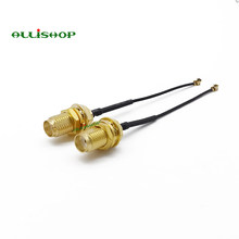 Коаксиальный кабель ALLISHOP 15 см rg1.13 для Wi-Fi антенны, разъем sma для перемычки ipx/ufl, гнездовой разъем sma для кабеля ipx 1,13