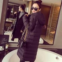 2016 new Pattern Korean winter  down  coat  Long  Sleeve Keep Cotton-padded Woman Loose Coat Overcoat dy0102