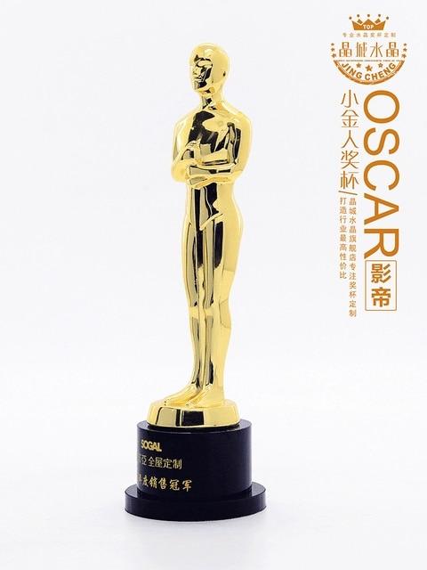 Premio De La Academia Oscar Estatua Oscar Trofeo Aleacion De Zinc Replica Oscar Trofeo