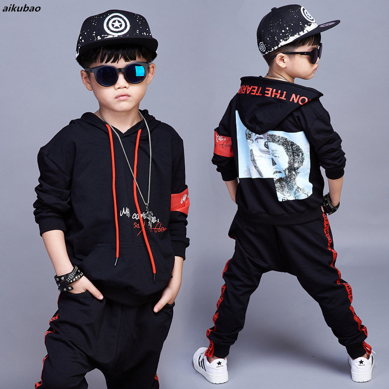 korean baby products 2018 new kids boys clothing children spring autumn clothing set hoodies + pants 2PCS baby boy tracksuit