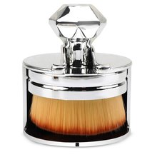 Seal loose powder foundation special brush plastic handle nylon wool soft hair with high-end