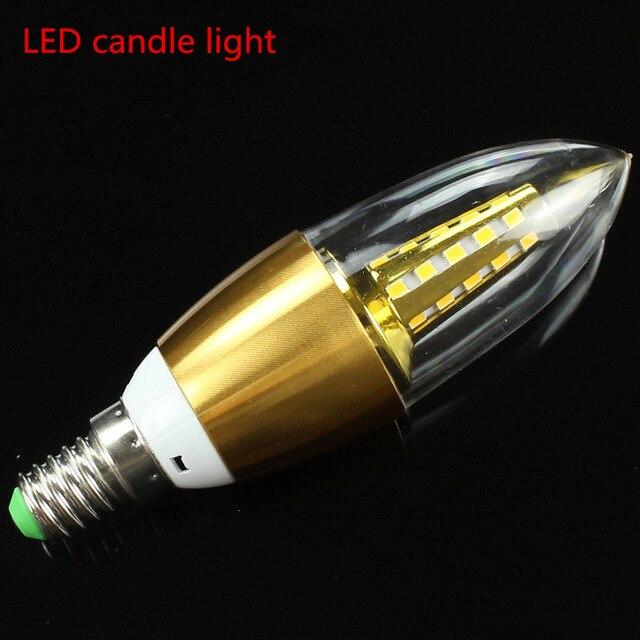 Led Bulbs & Tubes Aspiring 10x Pcs Led Candle Light 2835smd Bulb Lamp High Brightnes 5w E14 Ac220v 230v 240v/warm White Light Bulbs