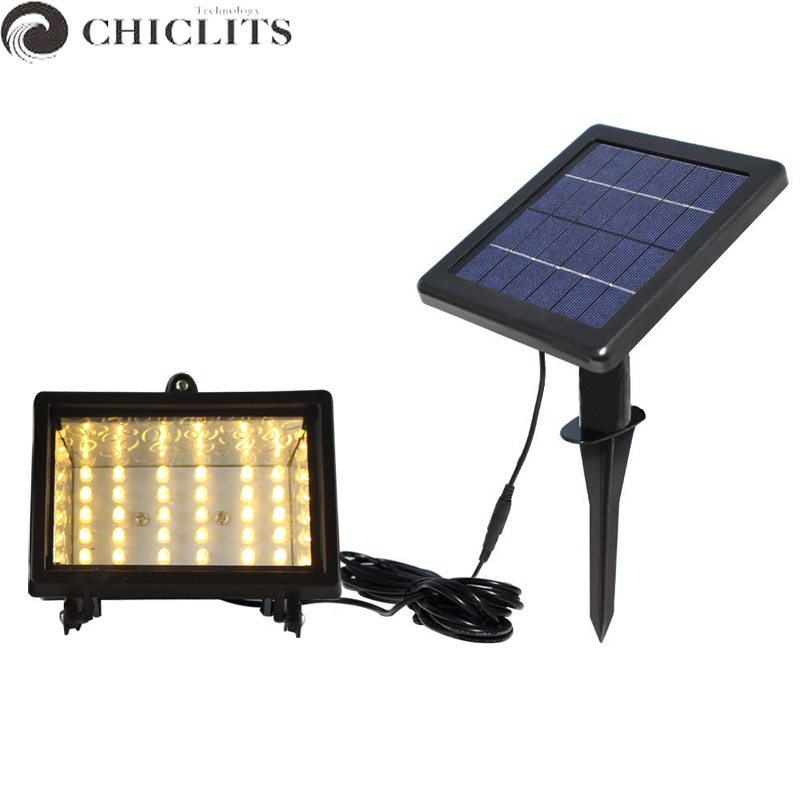 chiclits lampe solaire solar lamp 30leds ip65 waterproof outdoor garden lighting security. Black Bedroom Furniture Sets. Home Design Ideas