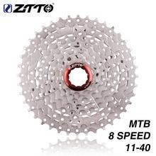 ZTTO 8s 11-40T Cassette 8 Speed Freewheel Steel Flywheel Bicycle Parts for M410 K7 X4 Mountain Bike