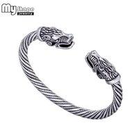Mijn Vorm Viking Wolf Armband Indian Sieraden Zinklegering Mannen Polsband Manchet Armbanden voor Vrouwen Armbanden Accessoires