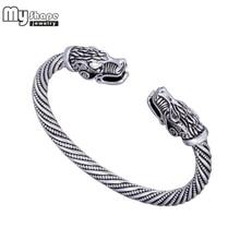 my shape Viking Wolf Bracelet Indian Jewelry Fashion Accessories Zinc Alloy Men Wristband Cuff Bracelets For Women Bangles цена в Москве и Питере