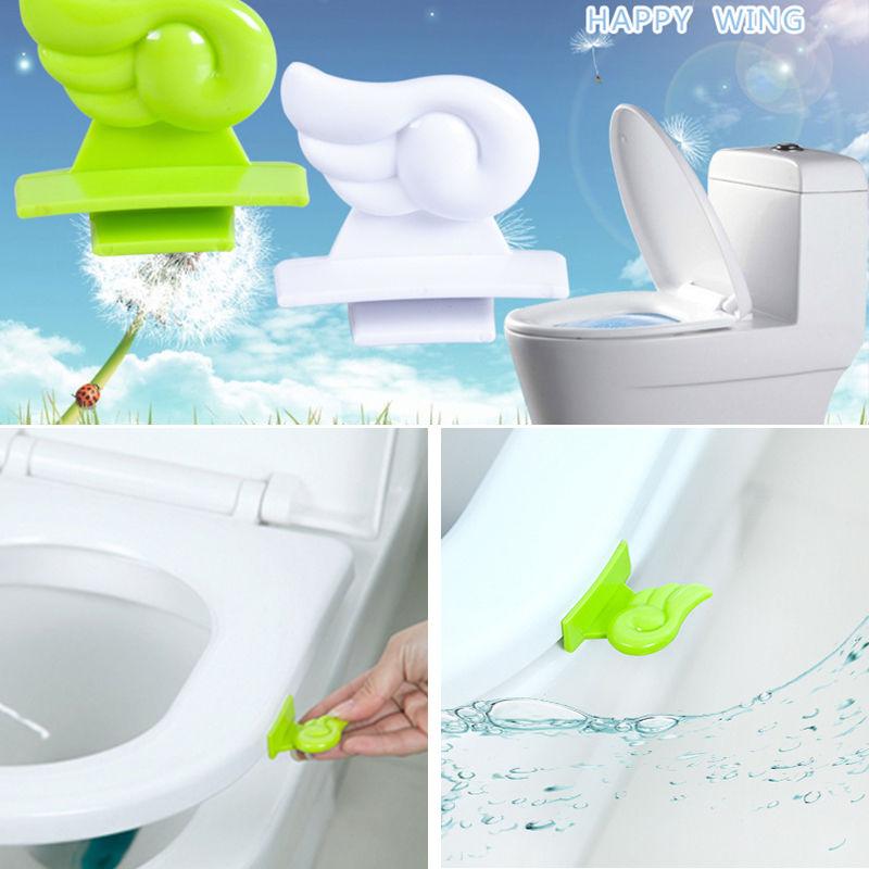 DIY Cover Lifter Portable Sanitary Home Garden Accessories Toilet ...