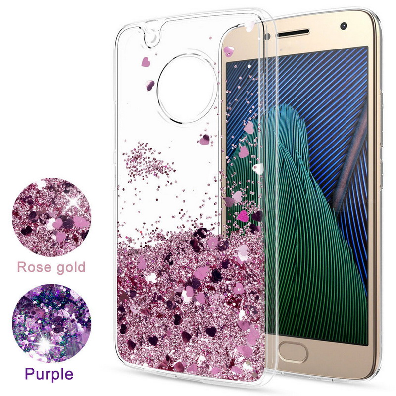 Fashion Glitter Liquid Quicksand Case For Motorola