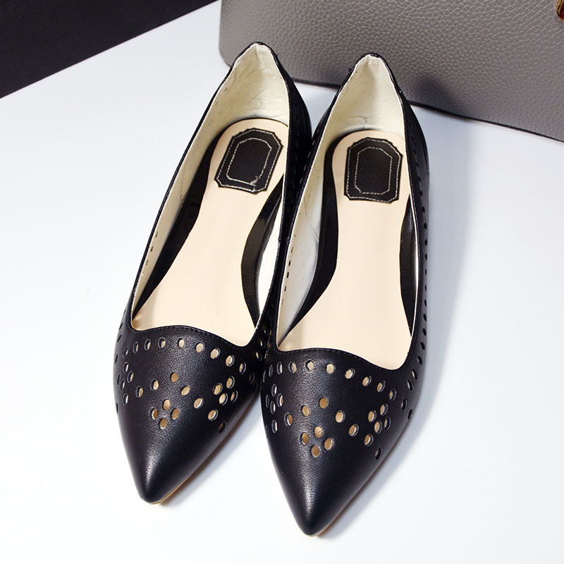 ФОТО 2017 Europe Designer women Luxury designer shoes genuine leather brand casual shoes classic flats fashion spring summer shoes