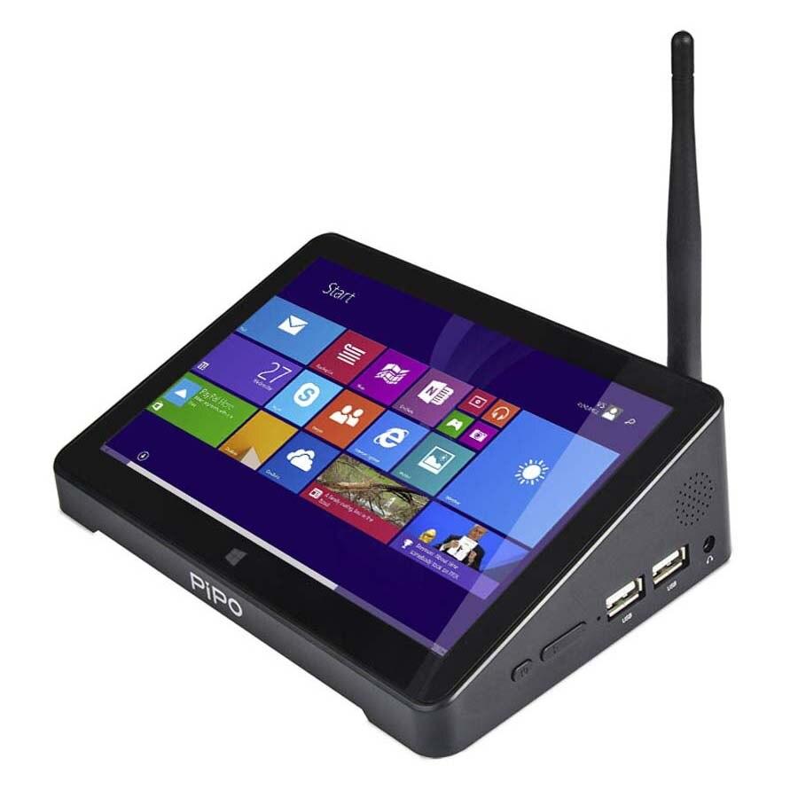 Новый pipo X8 Pro Dual HD Графика ТВ коробке Windows 10 Intel 8350 4 ядра 2 GB/32 GB ТВ коробке 7 дюймов Экран для планшетов мини ПК
