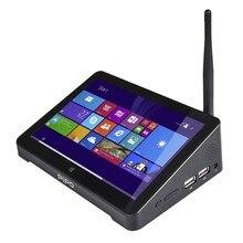 Yeni PIPO X8S X8 Pro Çift HD Grafik TV KUTUSU Windows 10 Intel Z3735F Dört Çekirdekli 2 GB/32 GB Tv Kutusu 7 Inç Ekran Tablet Mini Pc