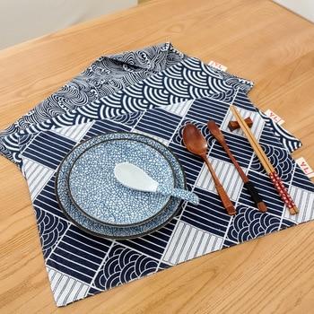 מודרני רץ לשולחן מודפס גיאומטרי פשתן כותנה רץ לשולחן לחתונה מסיבת בית מלון שולחן קישוט מטבח מפית