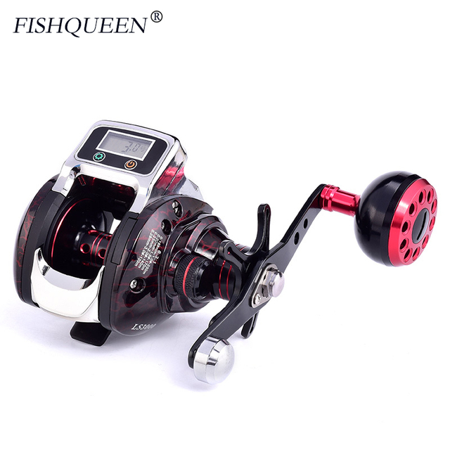 2019 New Baitcasting Reel With Line Counter Reel Fishing 14+1 BB Ball Bearing Bait Casting 6.3:1 One-way Fishing Coils Wheel