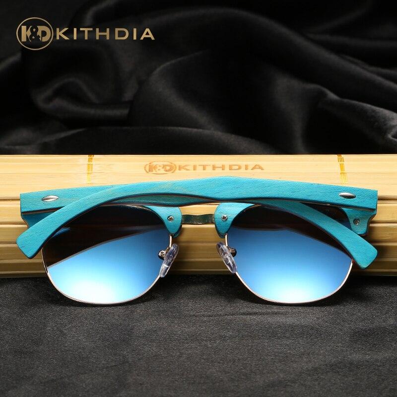 KITHDIA Brand Naturl Wood Sunglasses Women Retro Vintage Polarized Skateboard Wooden Glasses Oculos De Sol Goggle KD035 in Men 39 s Sunglasses from Apparel Accessories