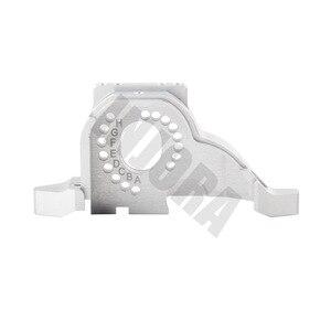 Image 3 - INJORA سبائك الألومنيوم جهاز تثبيت المحرك بالوعة الحرارة ل 1/10 RC الزاحف Traxxas TRX 4 المدافع TRX4 برونكو #8290