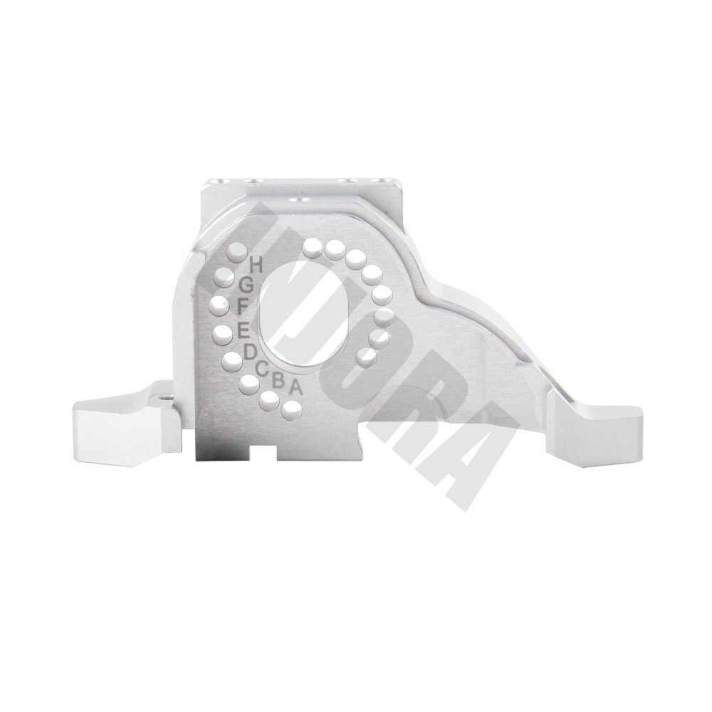 INJORA alüminyum alaşımlı motor montajı için ısı emici 1/10 RC paletli Traxxas TRX-4 Defender TRX4 Bronco #8290