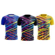 Мужская спортивная одежда, рубашки для бадминтона, Спортивная рубашка, теннисные рубашки для мужчин, футболки для настольного тенниса, быстросохнущие спортивные футболки для фитнеса