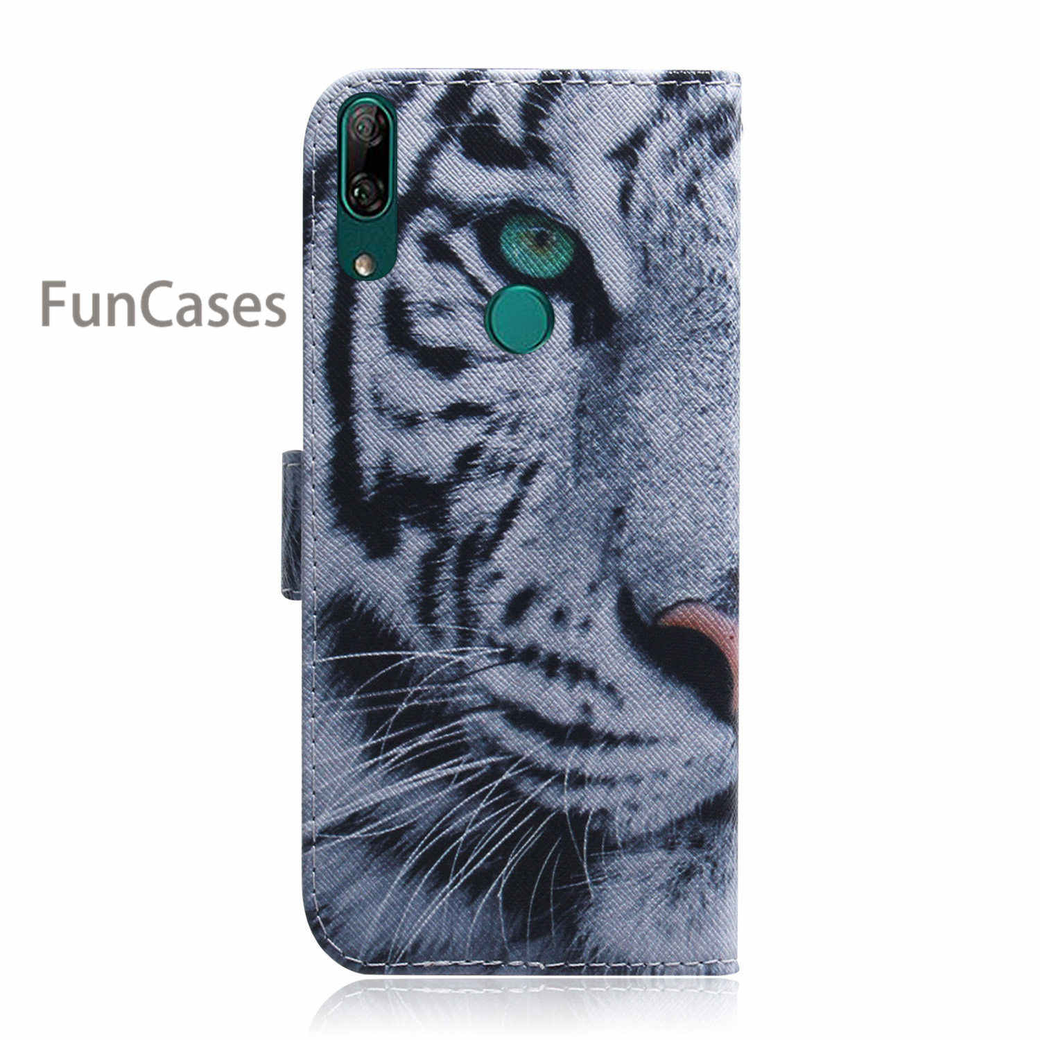 Lovely Smart Phone Covers For phone case Huawei Y9 Prime 2019 PU Leather Flip Case sFor Huawei telefoon P Smart Z Estojo Casa