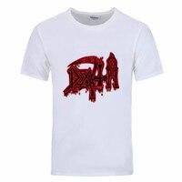 Men DEATH Class Logo T Shirt ROCK BAND HEAVY METAL Funny Camisetas Clothes 2017 Satellite 1985