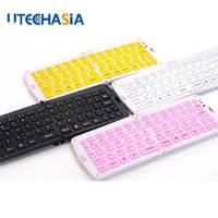 Ultra Slim Wireless Keyboard Bluetooth 3 0 Gaming Keyboard USB For Apple IPad IPhone Mac Book