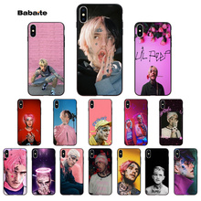Babaite Lil Peep Bo Pattern TPU Soft Phone Cell Case for Apple iPhone 8 7 6 6S Plus X XS MAX 5 5S SE XR cover