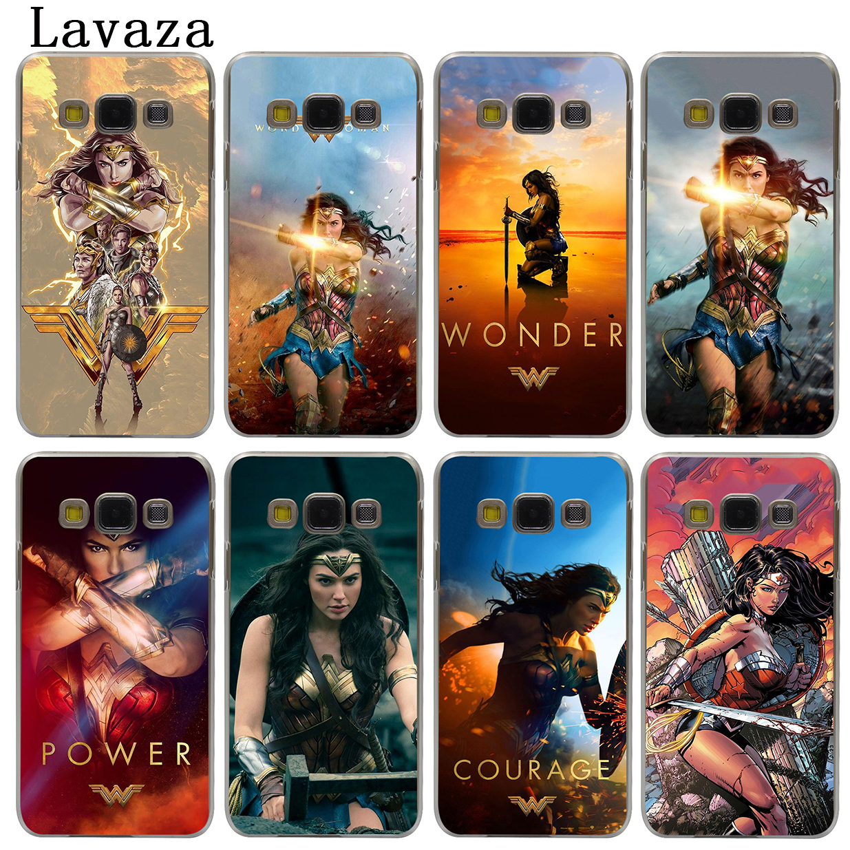 Lavaza Wonder Woman Жесткий Чехол для samsung Galaxy J7 J1 J2 J3 J5 2015 2016 2017 Прайм про Ace 2018 случаев