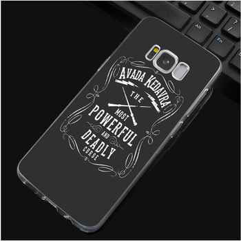 Harry Potter Phone Case for Samsung S Series Avada Kedavra  7