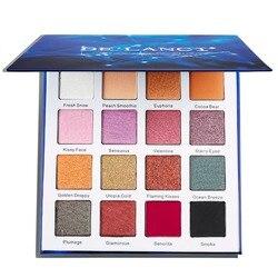 DE'LANCI-paleta de sombra de ojos, 16 colores, duocromo, brillo metálico mate, paleta de Maquillaje sombra de ojos pigmentada, juego de cosméticos