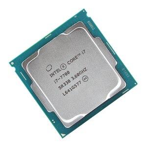 Image 2 - Intel Core i7 7700 Quad Core מעבד 3.6 GHz 8 חוט LGA 1151 65 W 14nm i7 7700 מעבד
