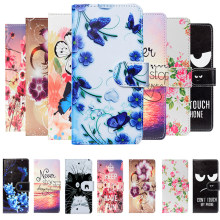 For BQ BQ-5702 Spring 5707G Next Music 5701L Slim 5511L Bliss 5515L Fast 5512L Strike Case Cartoon Wallet PU Leather Case Cover(China)