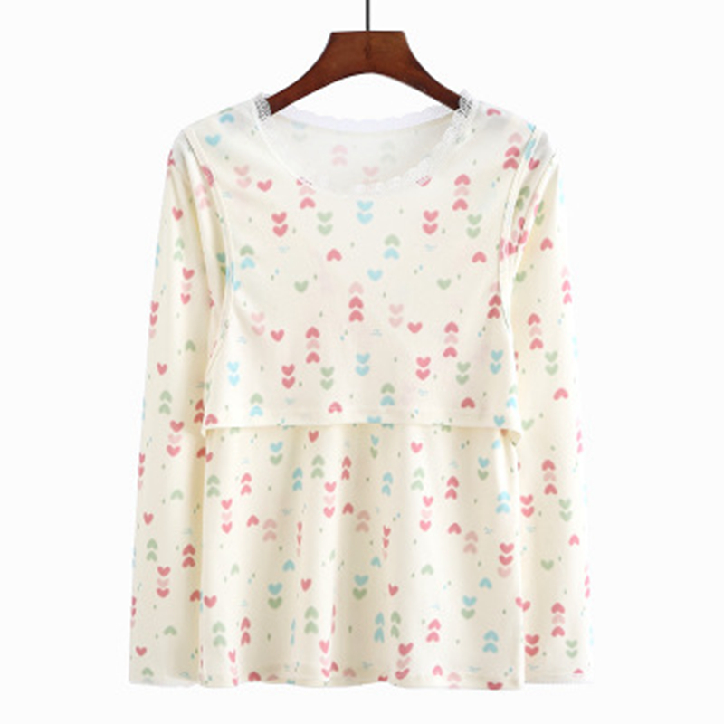 2019 New Women Shirt Maternity Top Mama Clothes Flattering Side Ruching Long Sleeve Female O-Neck Pregnancy T-shirt Women LC00032019 New Women Shirt Maternity Top Mama Clothes Flattering Side Ruching Long Sleeve Female O-Neck Pregnancy T-shirt Women LC0003