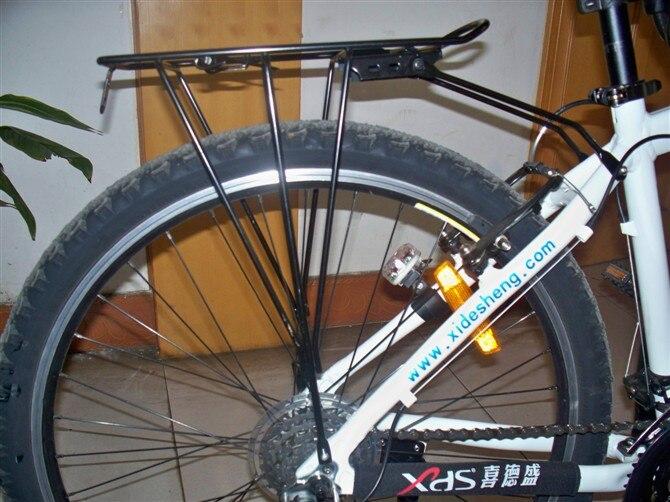 strong steel bicycle rear rack for road bike luggage racks mountain bike carrier rack adjustable bicycle accessories racks