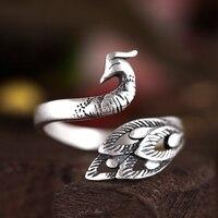 Vintage Peacock Ring